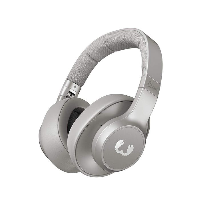 Clam BlueTooth Noise Cancelling Headphones; Ice Grey
