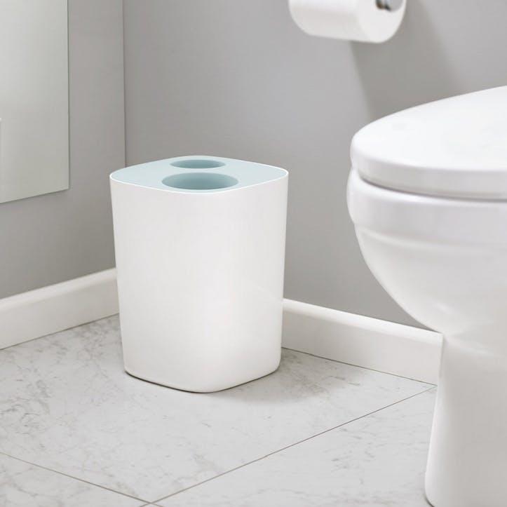 Split Bathroom Waste Separation Bin