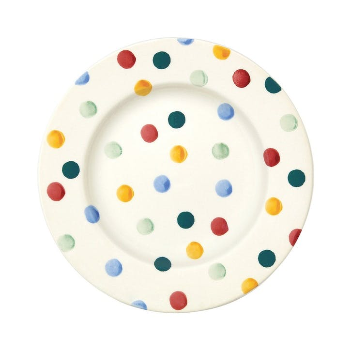 Polka Dot Plate, 22cm