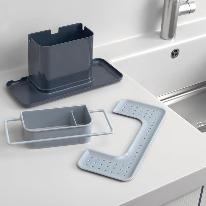 Caddy Sink Tidy, Large, Grey