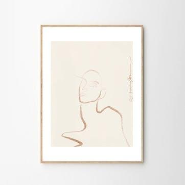 Moi - Anna Johansson Art Print D50cm x H70cm