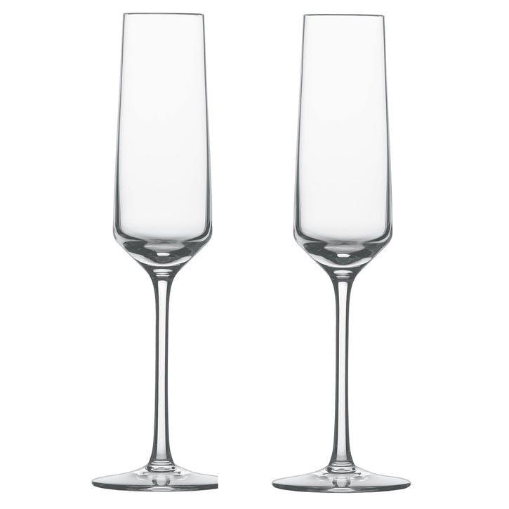 Pure Sparkling Wine Glass, Set of 2