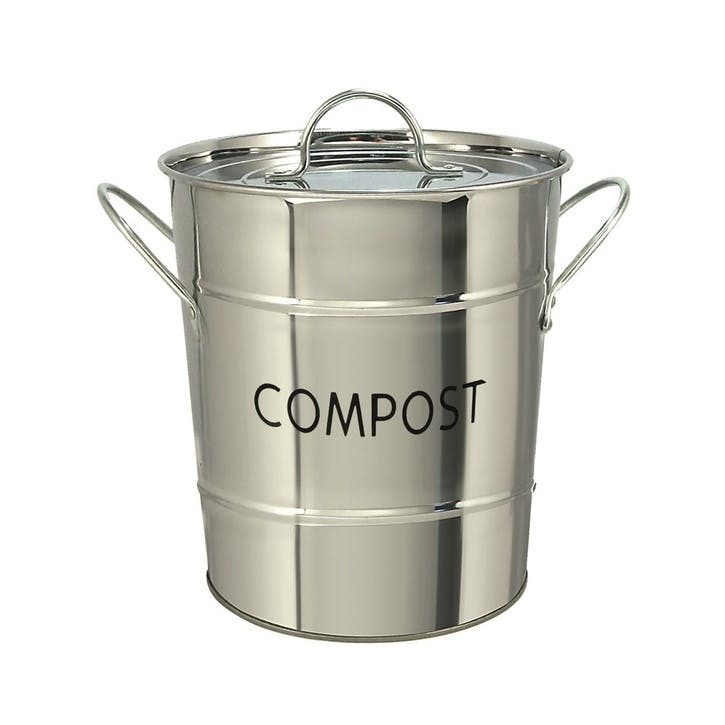 Stainless Steel Compost Pail, 3.2l