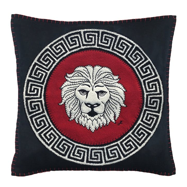 Leo Cushion, 46 x 46cm, Multi