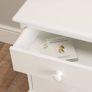 Classic Chest Of Drawers, White