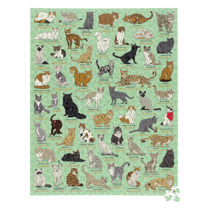 Cat Lovers Jigsaw Puzzle