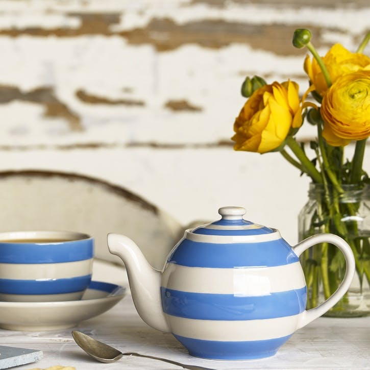 Cornish Blue Small Betty Teapot