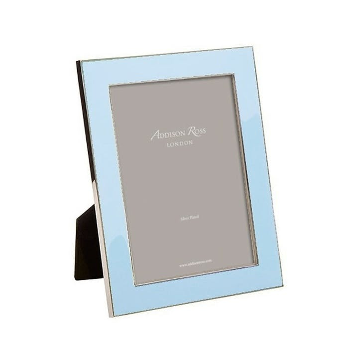 "Enamel Photo Frame- 4""x6""; Ice"