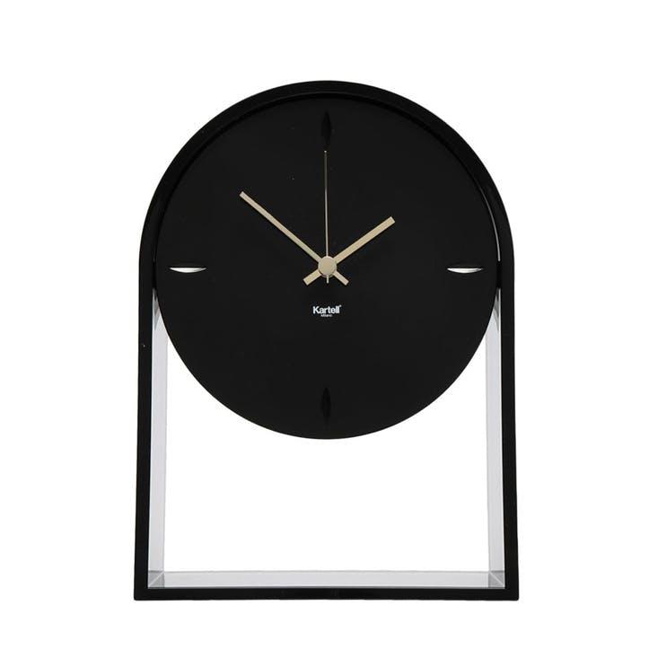 Air Du Temps, Mantel Clock, Black