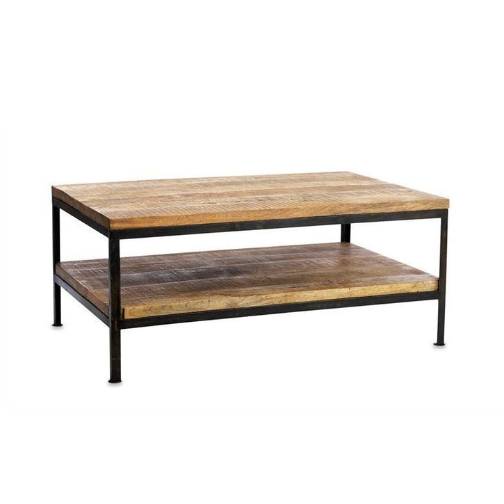 Kaleri Iron Coffee Table - Large