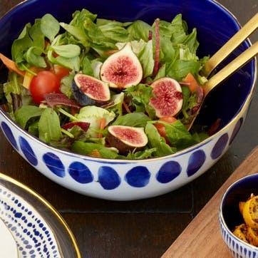 Mikasa Azores Spot Salad Bowl