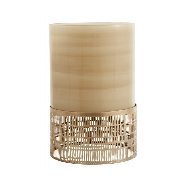 Deco Glass Candle Holder