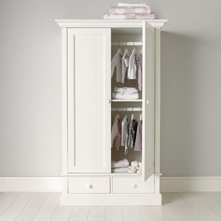 Classic Small Wardrobe, White