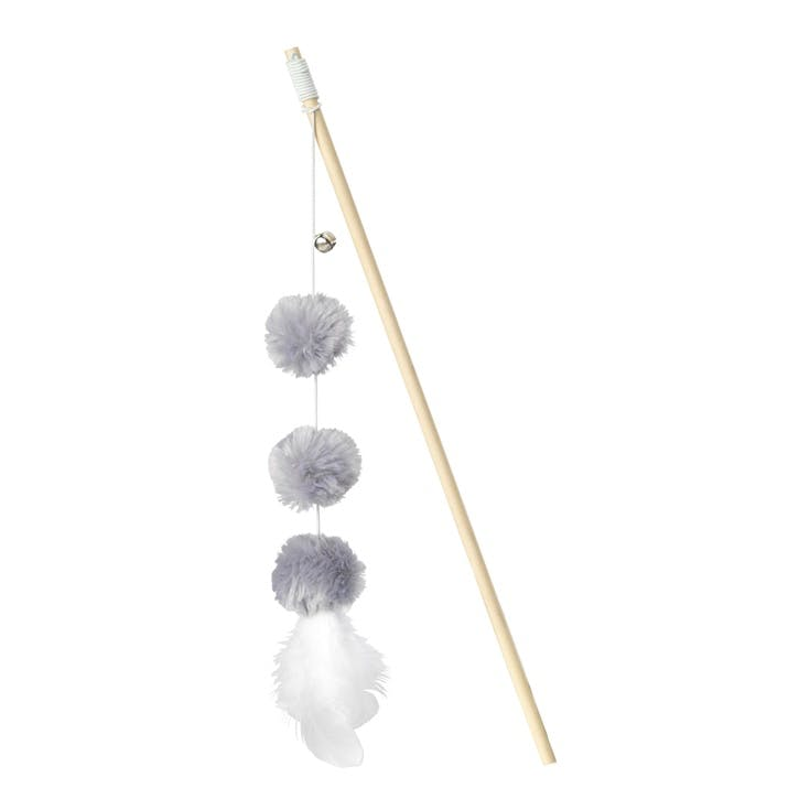 Mouse Pom Pom Cat Wand