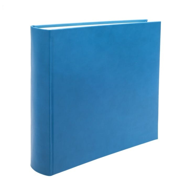 Chelsea Square Leather Photo Album, Turquoise