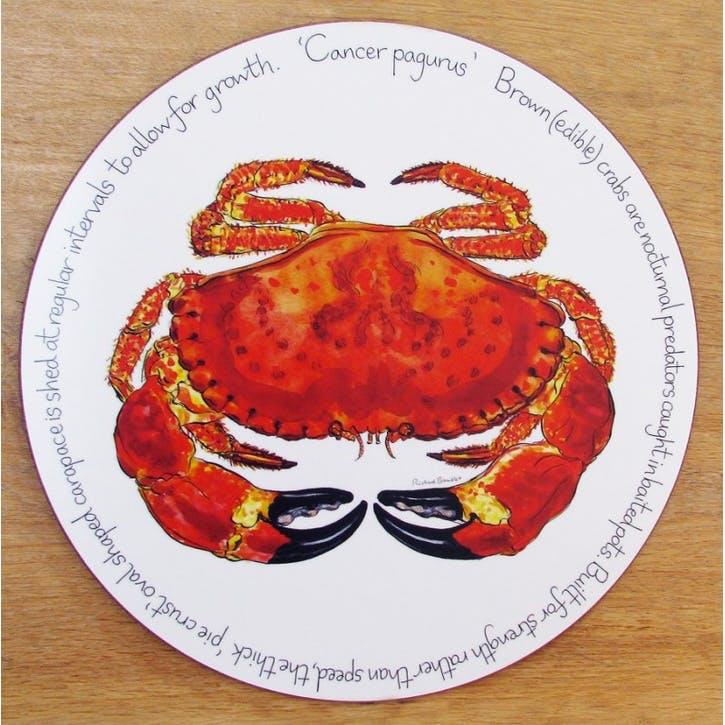 Crab Tablemat - 28cm