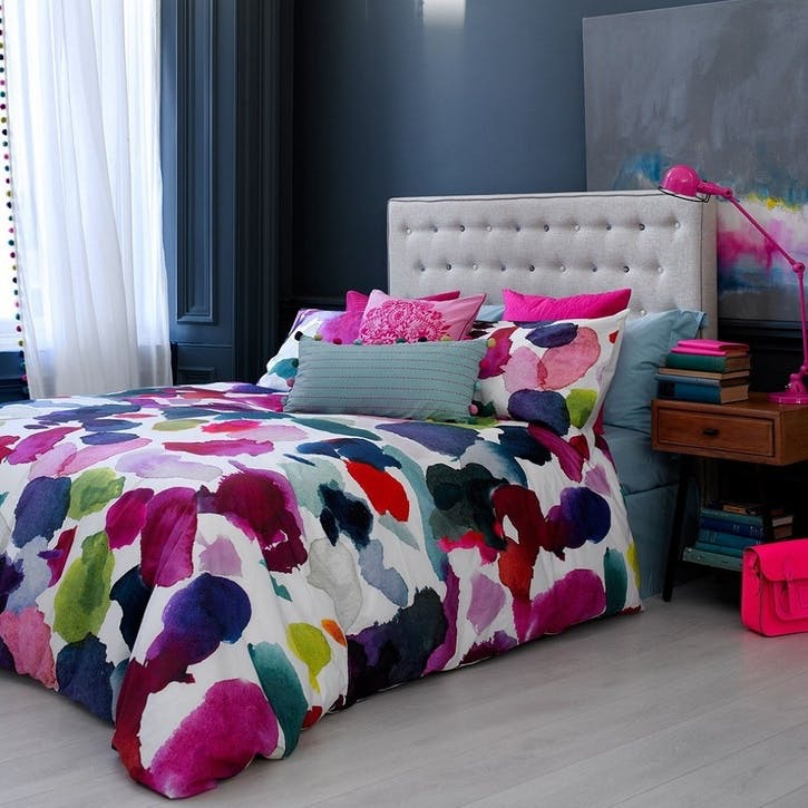 Abstract Superking Size Duvet Cover & Pillowcase Set