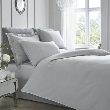 Pure Bedding Set, Double, Silver