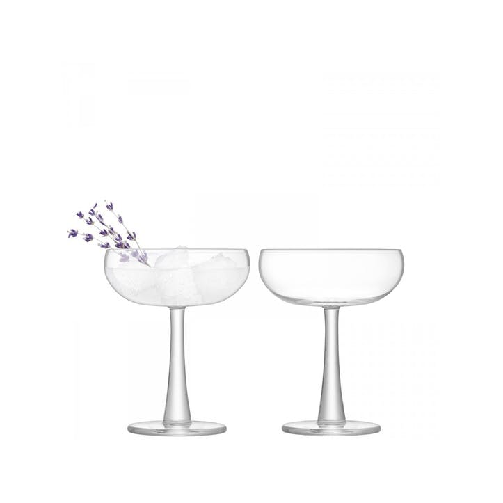 LSA Gin Coupe Glass Set of 2