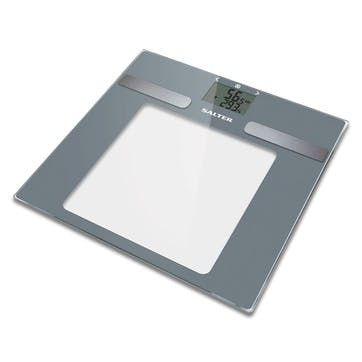 Dashboard Glass Analyser Scale, Silver