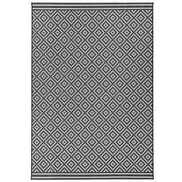 Patio Rug, 1.2 x 1.7m, Diamond Mono