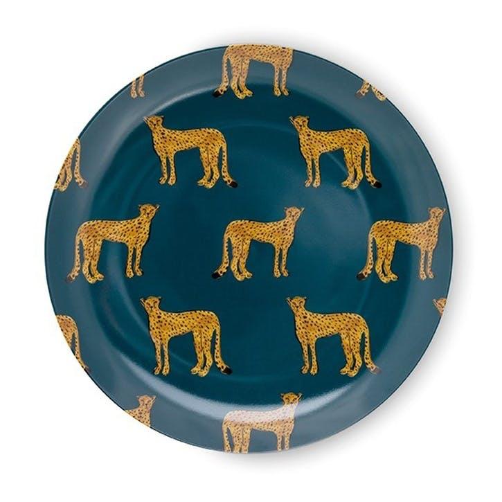 Cheetah Breakfast Plate