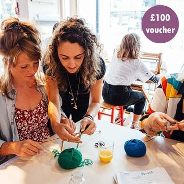 £100 Gift Voucher - Sewing/Knitting Classes