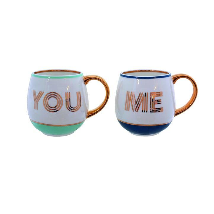 You & Me Library Mug Set