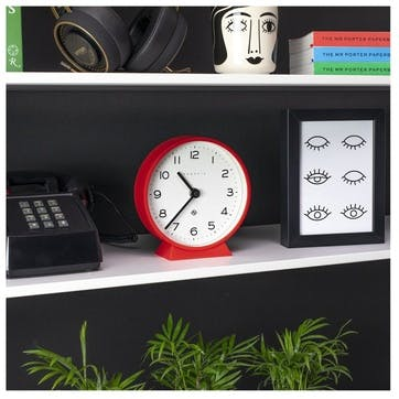 M Mantel Echo, Mantel Clock, Red