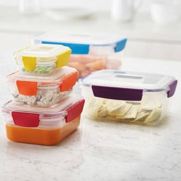 Nest Storage Box, Set of 5, Multi-Colour