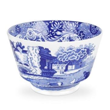 Blue Italian Sugar Bowl