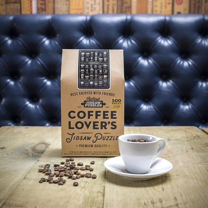 Coffee Lovers Jigsaw Puzzle