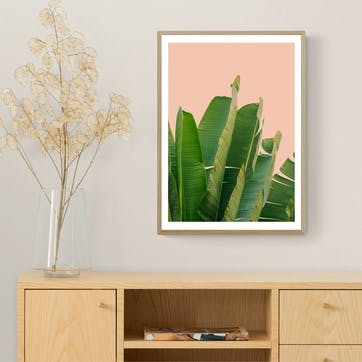 Rafael Farias, Banana Leaves Framed Art Print