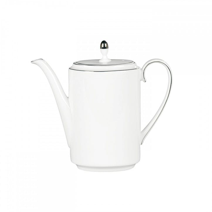 Blanc Sur Blanc Coffee Pot