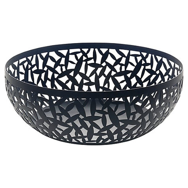 Cactus! Fruit Bowl - 29cm; Black