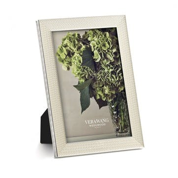 """With Love Nouveau Pearl Photo Frame, 4x6"""""""