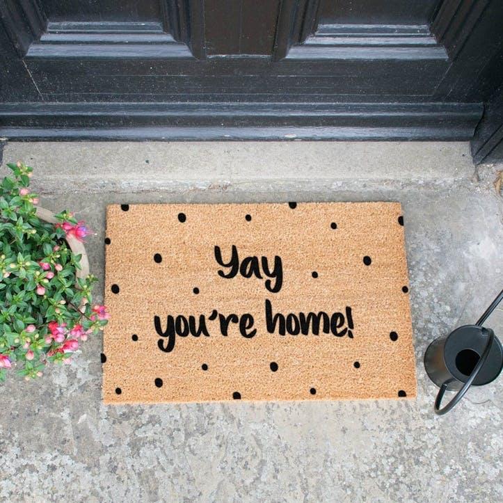 Yay You,re Home!, Doormat