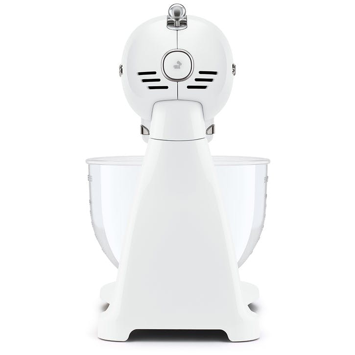 50's Style Stand Mixer, Full-Colour White