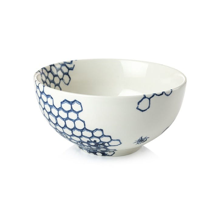 Ink Blue Pollen Cereal Bowl