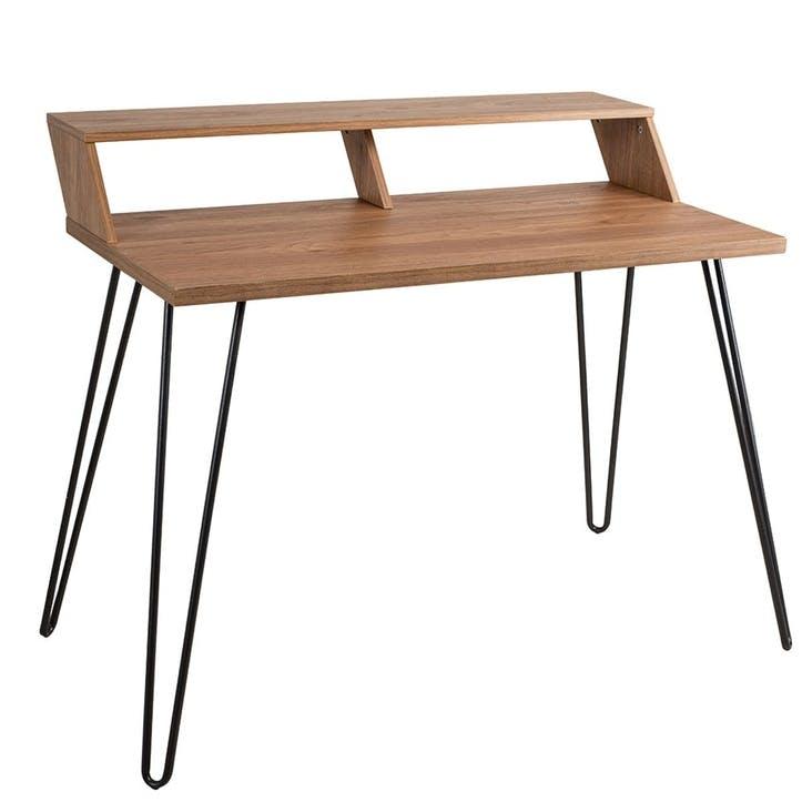 Bea Smart Desk, Beige/ Natural