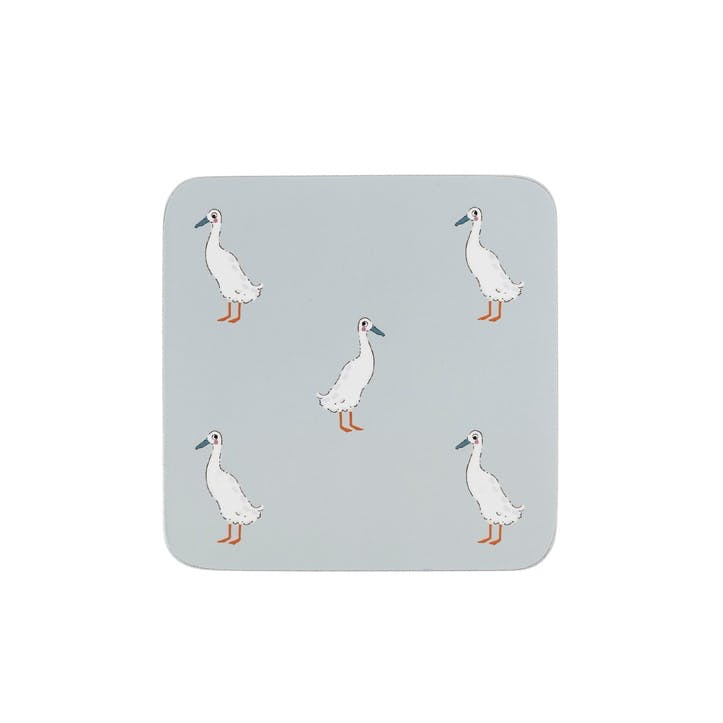 'Runner Duck' Coasters, Set Of 4