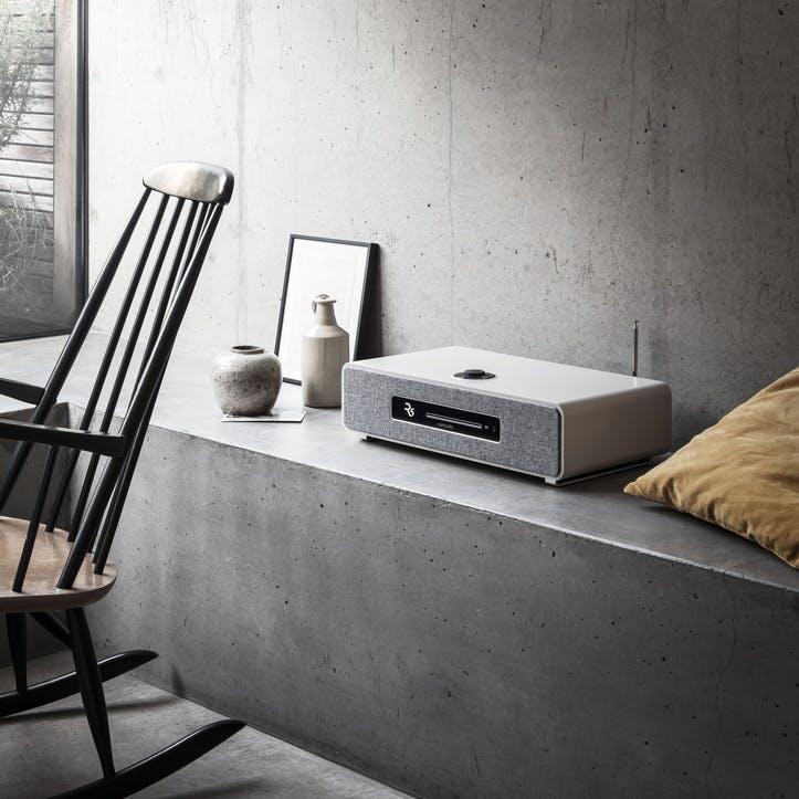 R5 High Fidelity Music System, Soft Grey