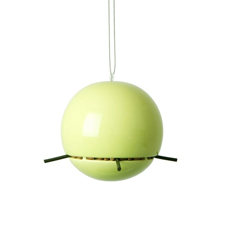 Birdball Peanut Feeder; Lime