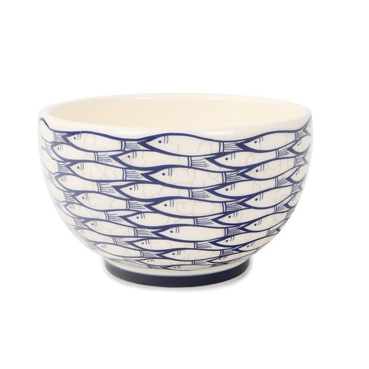 Sardine Run Bowl, 13cm, Blue