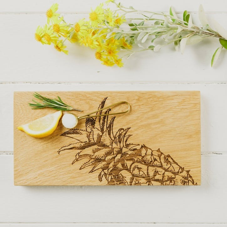 Pineapple Serving Board