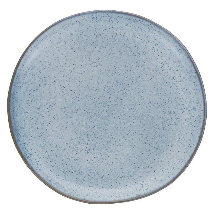 Olmo Dinner Plate, Light Blue