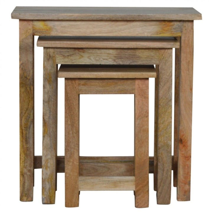 Cotswold Nesting Tables, Set of 3, Natural