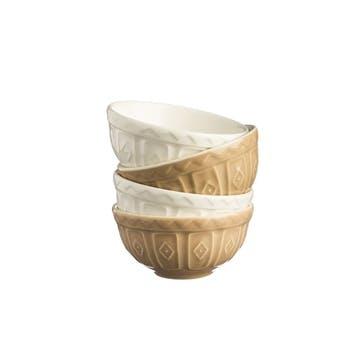 Cane Preparation Bowls, Set of 4