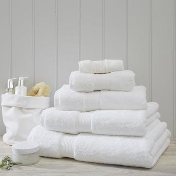Egyptian Cotton Towel, Bath Sheet, White