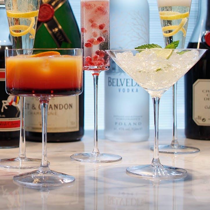 LSA Lulu Liqueur Glass, Set of 4, Assorted
